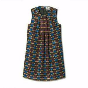 Anna Sui/Target Metallic Circle Sleeveless Dress